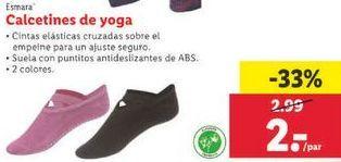 Oferta de Calcetines de yoga Esmara por 2€