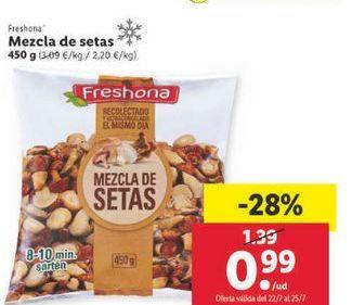 Oferta de Mezcla de setas Freshona por 0,99€