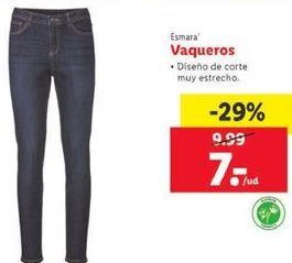 Oferta de Vaqueros esmara por 7€