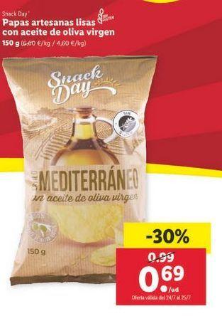 Oferta de Patatas fritas Snack Day por 0,69€