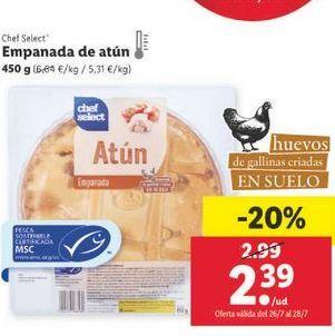 Oferta de Empanada chef select por 2,39€