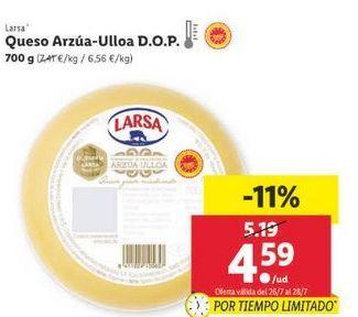 Oferta de Queso Larsa por 4,59€