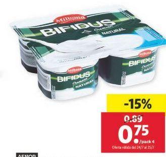 Oferta de Bifidus Milbona por 0,75€