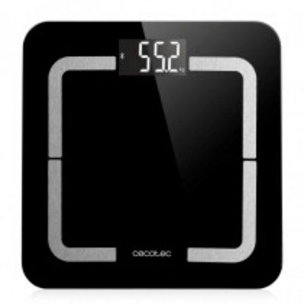 Oferta de Cecotec 04090 báscula de baño Plaza Negro Báscula personal electrónica por 20,9€