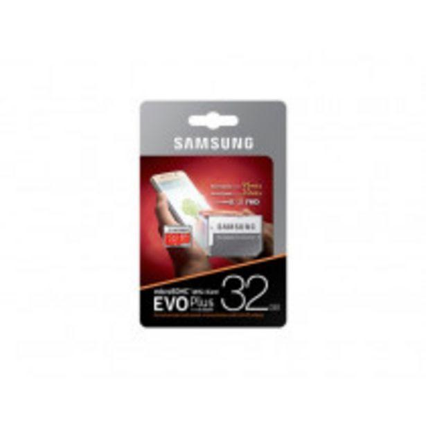 Oferta de Samsung MB-MC32G memoria flash 32 GB MicroSDHC UHS-I Clase 10 por 6,5€
