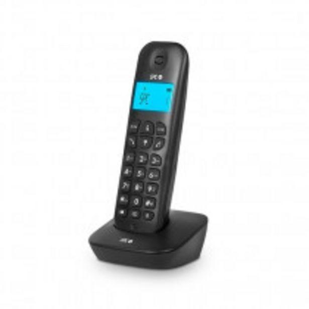 Oferta de SPC ART Teléfono DECT Negro Identificador de llamadas por 16,99€