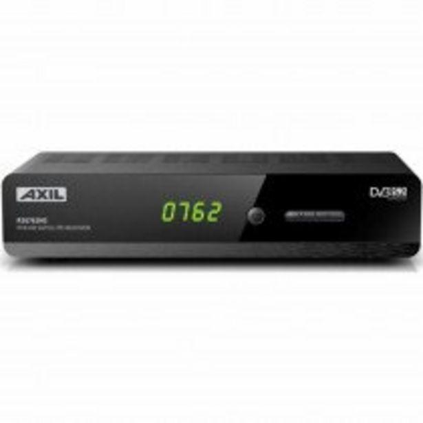 Oferta de Engel Axil RS0762HD tV set-top boxes Terrestre Negro por 38,5€