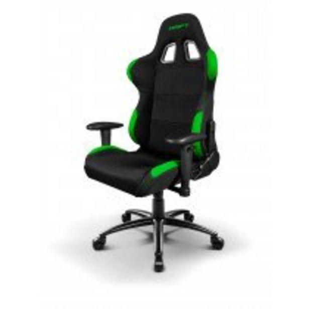 Oferta de DRIFT DR100 Silla para videojuegos universal Asiento acolchado Negro, Verde por 223,5€