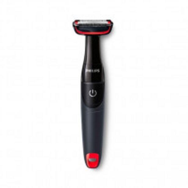 Oferta de Philips BODYGROOM Series 1000 afeitadora corporal BG105/10 por 19,5€