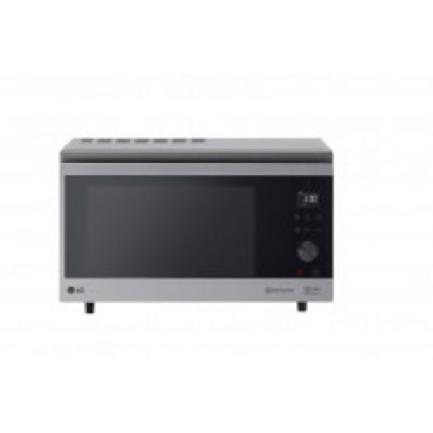 Oferta de LG MJ3965ACS microondas Encimera Microondas con grill 39 L 1350 W Acero inoxidable por 316,75€