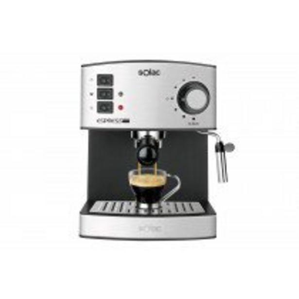 Oferta de Solac CE4480 cafetera eléctrica Semi-automática Máquina espresso 1,2 L por 82,75€