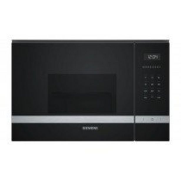 Oferta de Siemens iQ500 BE525LMS0 microondas Integrado Microondas combinado 20 L 800 W Negro, Acero inoxidable por 331,75€