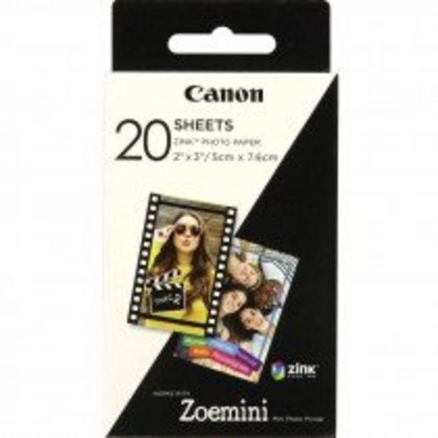 Oferta de Canon ZP-2030 papel fotográfico por 10,99€