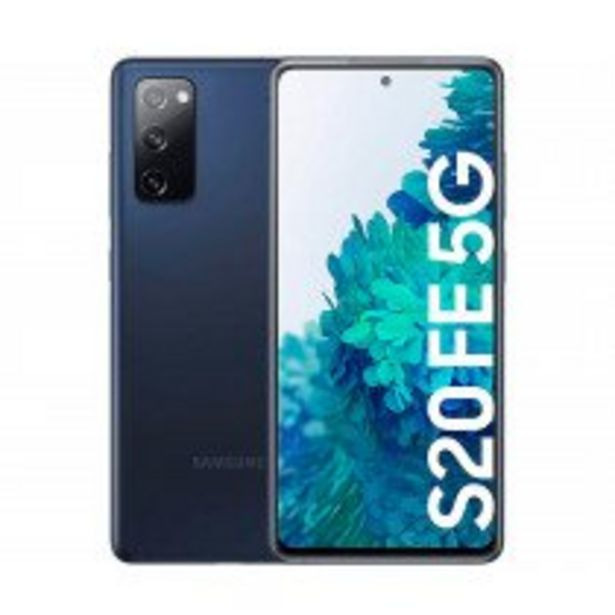 "Oferta de Samsung Galaxy S20 FE 5G SM-G781B 16,5 cm (6.5"") Android 10.0 USB Tipo C 6 GB 128 GB 4500 mAh Marina por 621,75€"