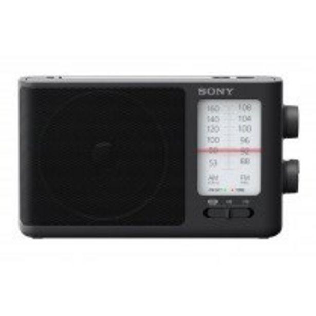 Oferta de Sony ICF506 radio Portátil Negro por 33,5€