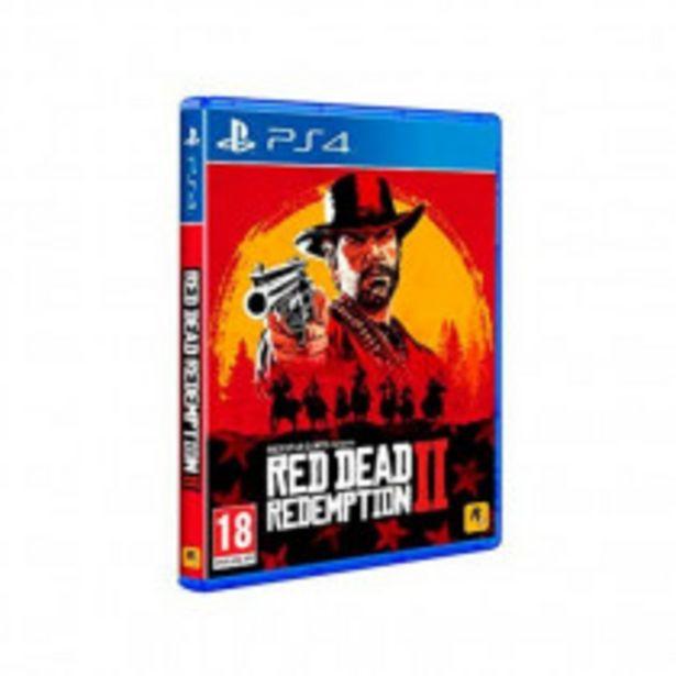 Oferta de JUEGO PS4 RED DEAD REDEMPTION 2 por 32,25€