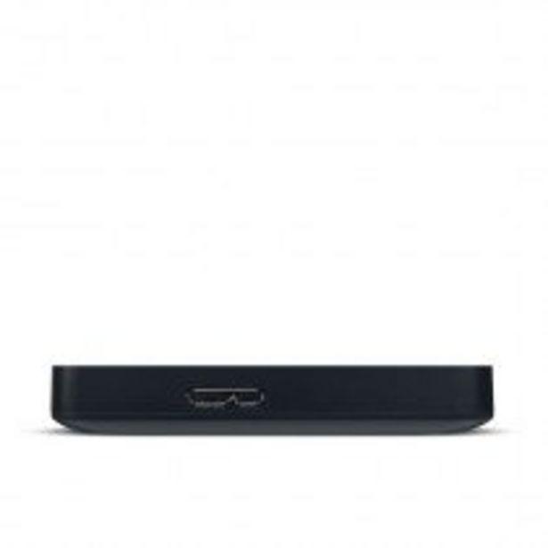 Oferta de Toshiba Canvio Basics disco duro externo 4000 GB Negro por 92,5€