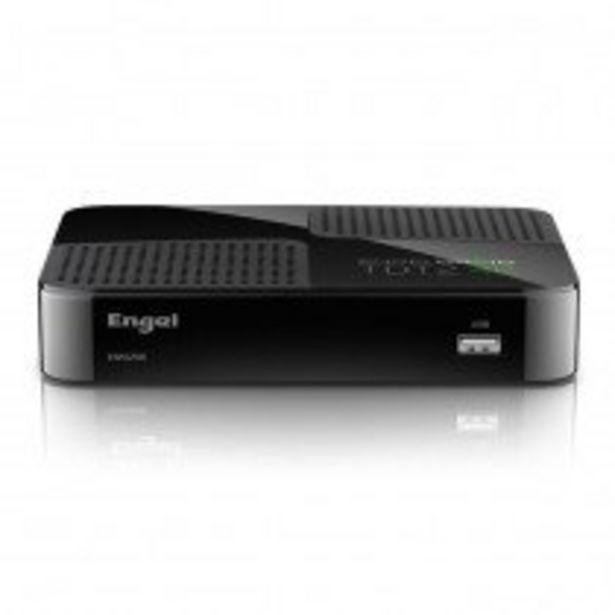 Oferta de Engel Axil EN1020K descodificador para televisor Ethernet (RJ-45), Satélite, WLAN Full HD Negro por 80,5€