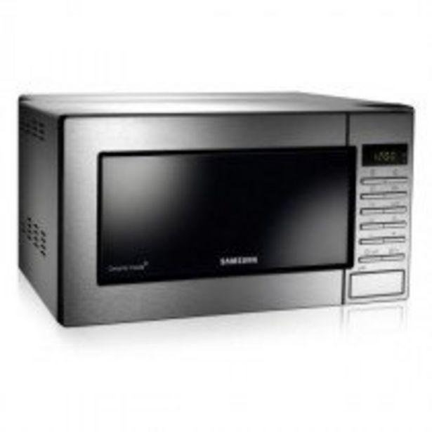 Oferta de Samsung GE87M-X microondas Encimera 23 L 800 W Acero inoxidable por 121,75€