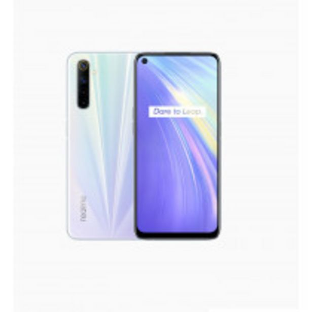 "Oferta de Realme 6 16,5 cm (6.5"") SIM doble Android 10.0 4G USB Tipo C 4 GB 64 GB 4300 mAh Blanco por 149,25€"