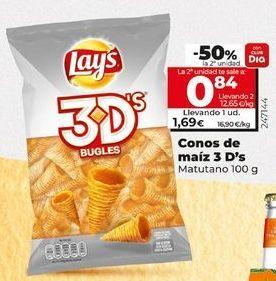 Oferta de Snacks Lay's por 1,59€
