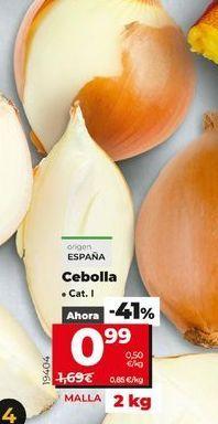 Oferta de Cebollas por 0,99€