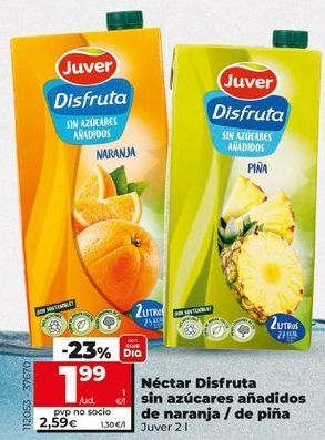 Oferta de Néctar Juver por 2,49€