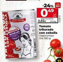 Oferta de Tomate triturado por 0,65€
