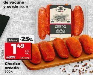 Oferta de Chorizo por 1,49€