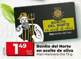 Oferta de Bonito del norte en aceite de oliva por 1,39€