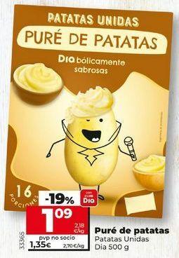 Oferta de Puré de patatas por 1,22€