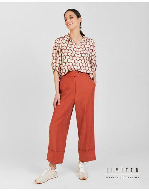 Oferta de Pantalón Culotte Liso por 29,99€