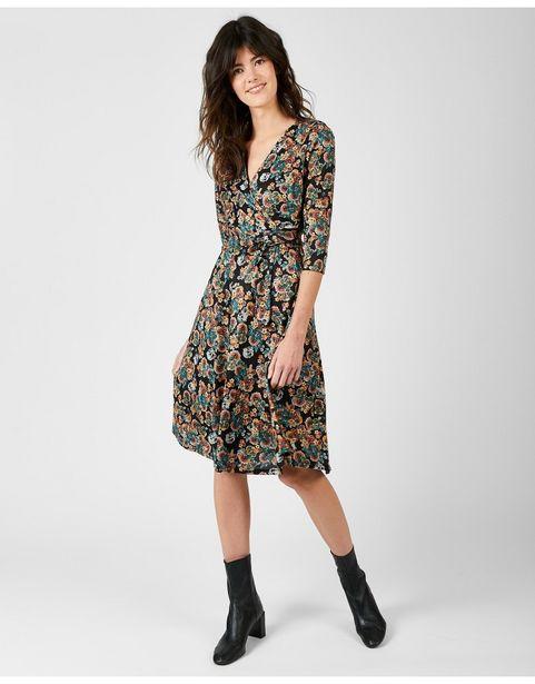 Oferta de Vestido Pico Floral por 29,99€