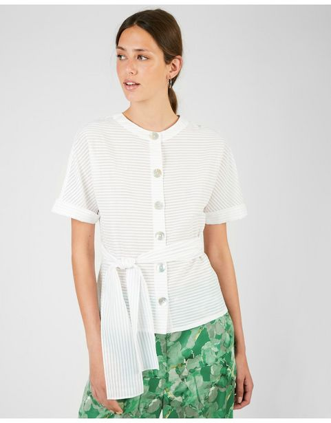 Oferta de Camisa Manga Corta Lazada por 25,99€