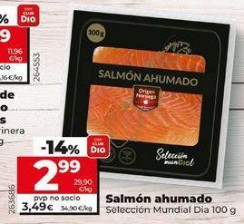 Oferta de Salmón ahumado por 3,49€