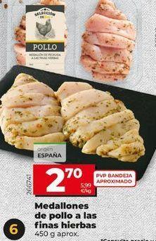 Oferta de Pollo adobado por 2,7€