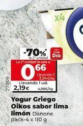 Oferta de Yogur griego OIKOS por 2,19€
