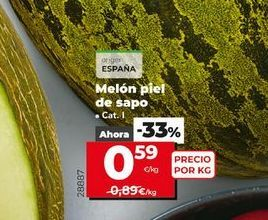 Oferta de Melón piel de sapo por 0,59€