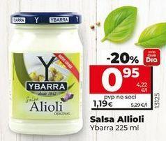 Oferta de Alioli Ybarra por 1,15€