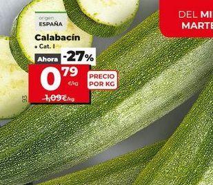 Oferta de Calabacines por 0,79€