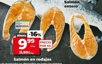 Oferta de Salmón por 9,99€