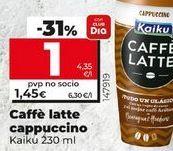 Oferta de Caffe latte Kaiku por 1,39€