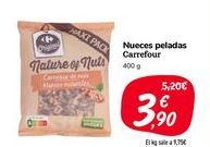 Oferta de Nueces peladas Carrefour por 3,9€