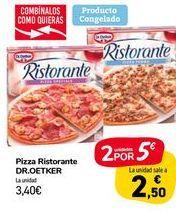 Oferta de Pizza Ristorante DR.OETKER por 3,4€