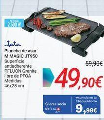 Oferta de Jata Plancha de asar M MAGIC JT950 por 49,9€