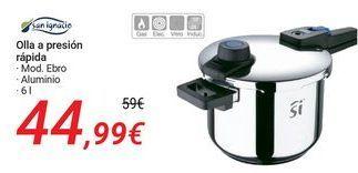 Oferta de SAN IGNACIO Olla a presión rápida  por 44,99€