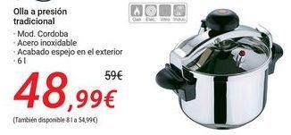 Oferta de Olla a presión tradicional  por 48,99€