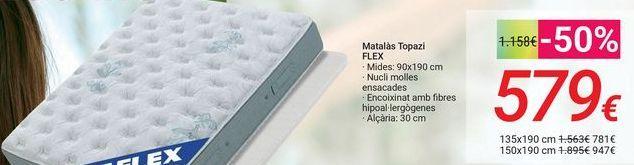 Oferta de Colchón Topacio FLEX por 579€
