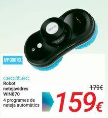 Oferta de CECOTEC Robot limpiacristales WIN870 por 159€