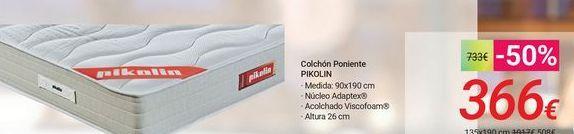 Oferta de Colchón Poniente PIKOLIN por 366€